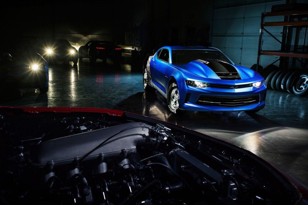 2016 SEMA Chevrolet COPO Camaro cars drag wallpaper