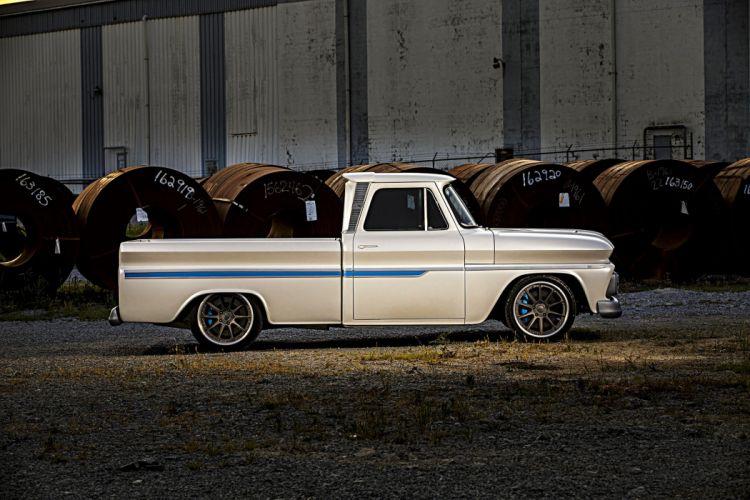 1966 Chevrolet C10 truck pickup wallpaper
