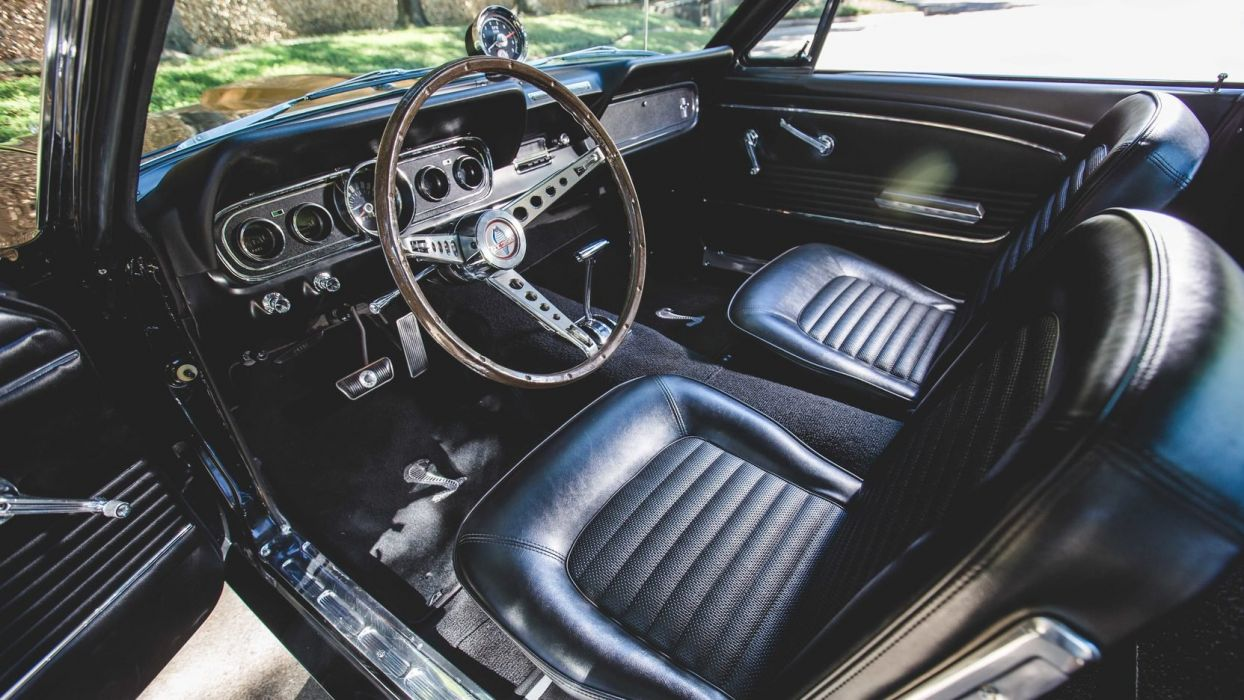 1966 SHELBY GT350-H FASTBACK cars black wallpaper