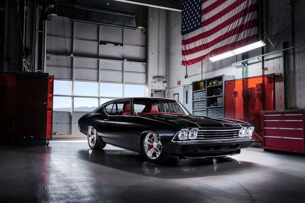 1969 Chevrolet Chevelle Slammer Concept sema 2016 wallpaper