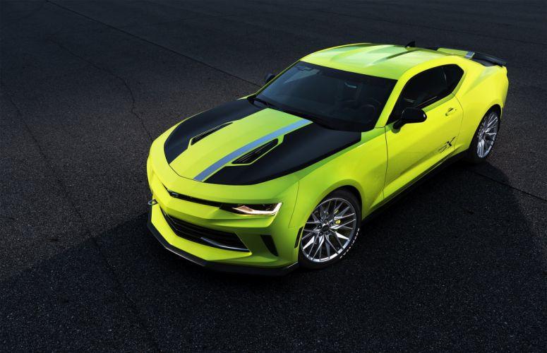 Chevrolet Camaro Turbo AutoX Concept sema 2016 wallpaper