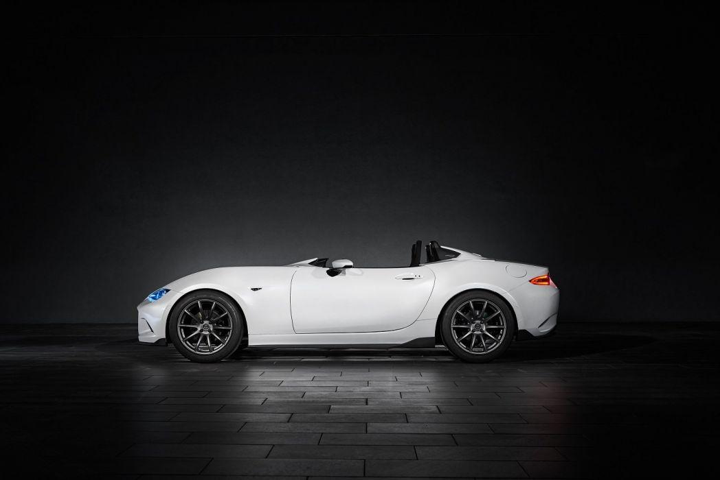 Mazda MX-5 Speedster Evolution Concept cars sema 2016 wallpaper