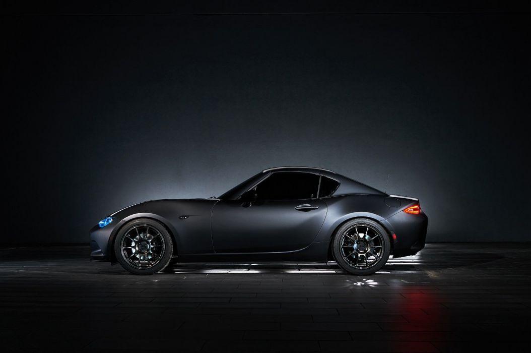 Mazda MX-5 Miata-RF Kuro Concept cars sema 2016 wallpaper