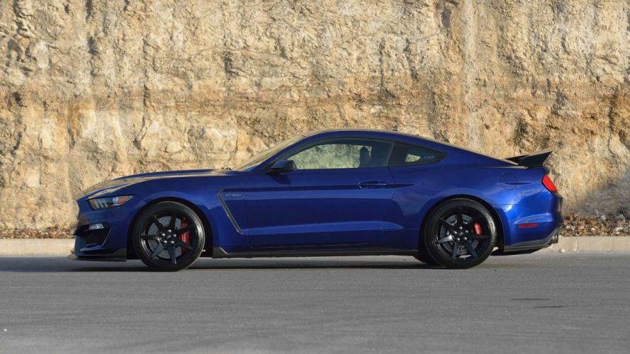 2015 cars ford gt350r mustang shelby usa blue wallpaper