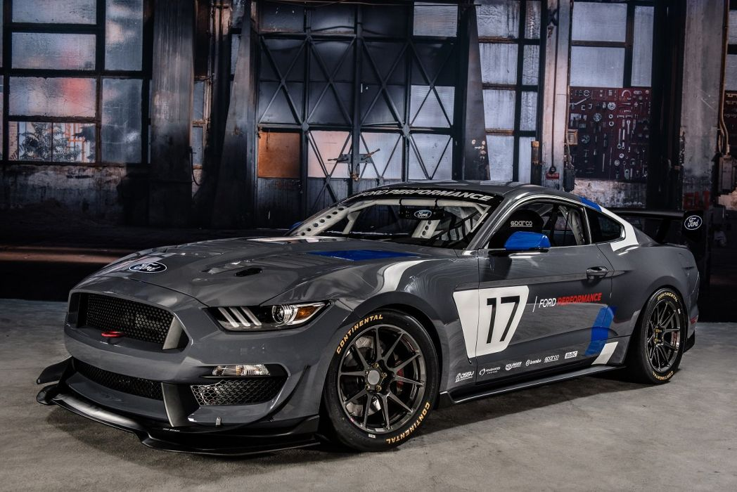 Ford Mustang GT4 Race Cars SEMA 2016 wallpaper