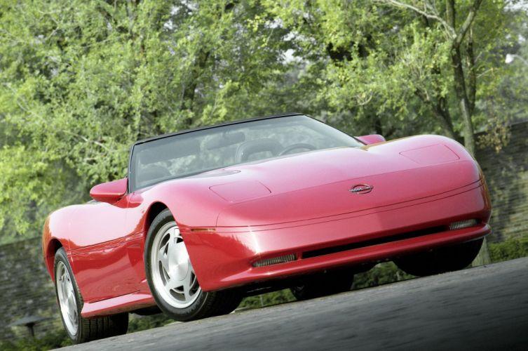 ASC Chevrolet Corvette Geneve Show Car 1988 wallpaper