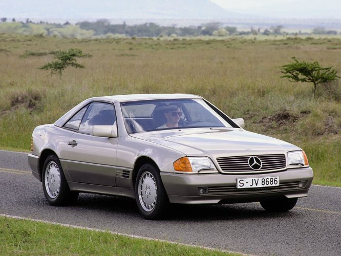 Mercedes-Benz 500SL 1988 wallpaper