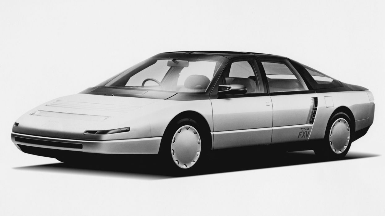 Toyota FXV Concept 1985 wallpaper