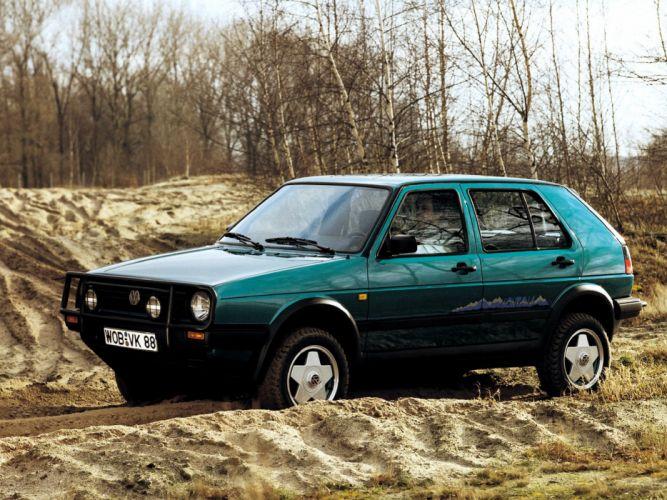 Volkswagen Golf Montana 1989 wallpaper