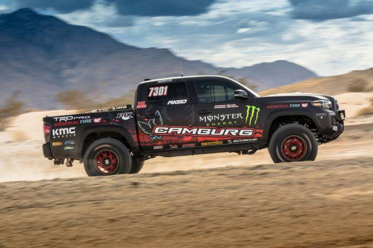 Toyota Tacoma TRD Pro Race Truck pickup SEMA 2016 wallpaper