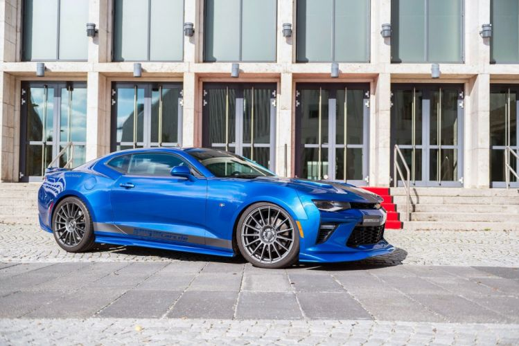 Geiger Chevrolet Camaro Supercharged 630 cars blue modified wallpaper