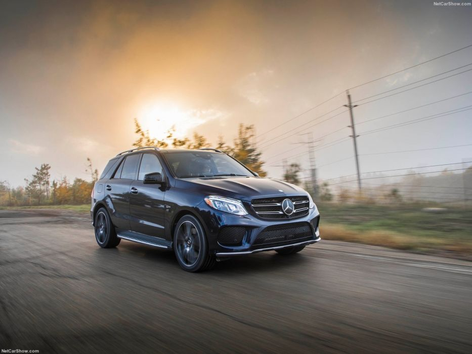 Mercedes Benz GLE-43 AMG US-version cars suv 2017 wallpaper