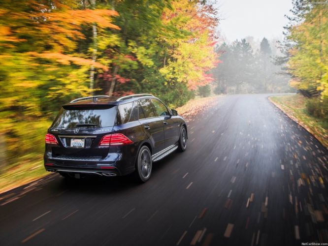Mercedes Benz GLE-43 AMG US-version cars suv 2017 wallpaper
