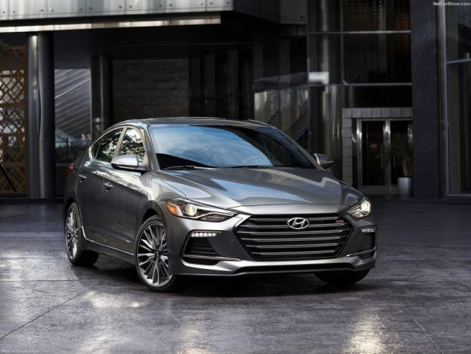 Hyundai Elantra Sport cars sedan 2016 wallpaper