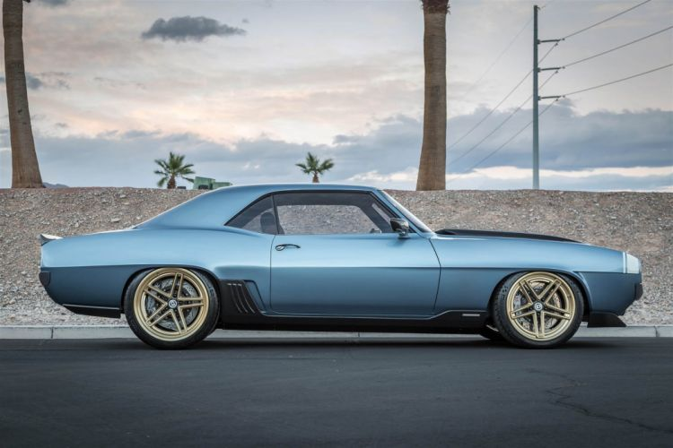 1969 chevy Camaro the Ringbrothers cars modified SEMA 2016 wallpaper