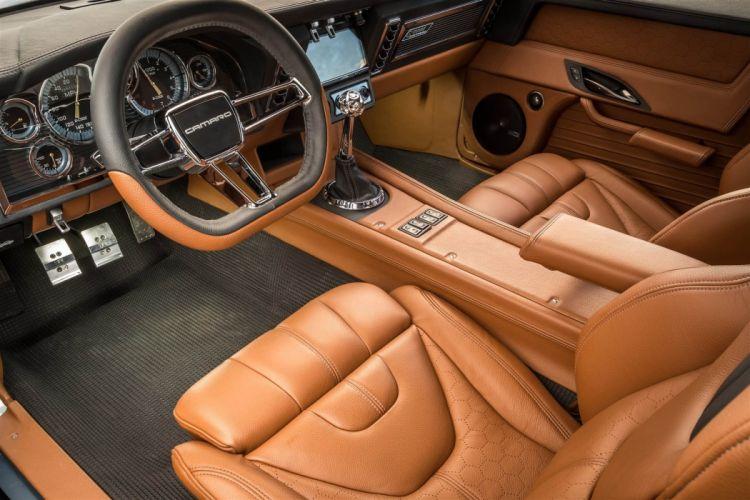 1969 chevy Camaro the Ringbrothers cars modified SEMA 2016 wallpaper