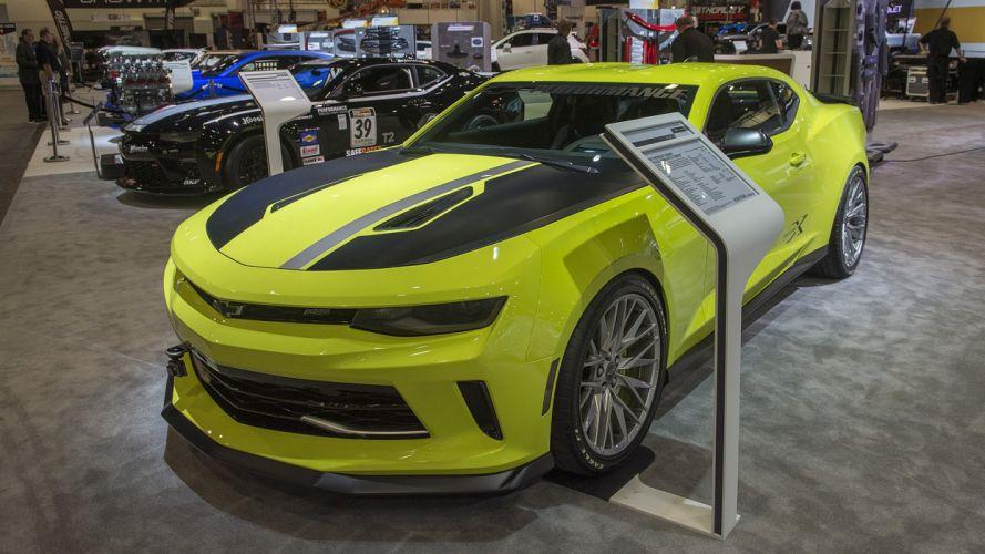 Chevrolet Camaro Turbo Autox cars sema 2016 wallpaper