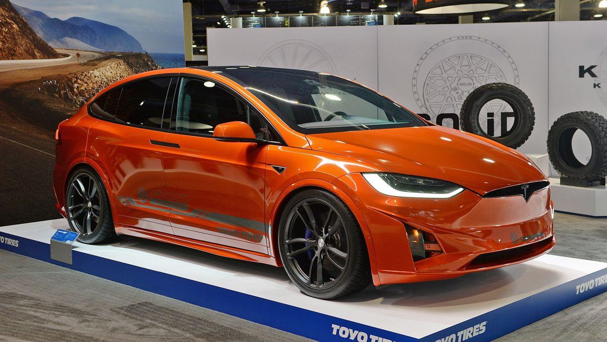 SEMA 2016 Tesla Model-X Unplugged Performance electric Toyo Tires wallpaper