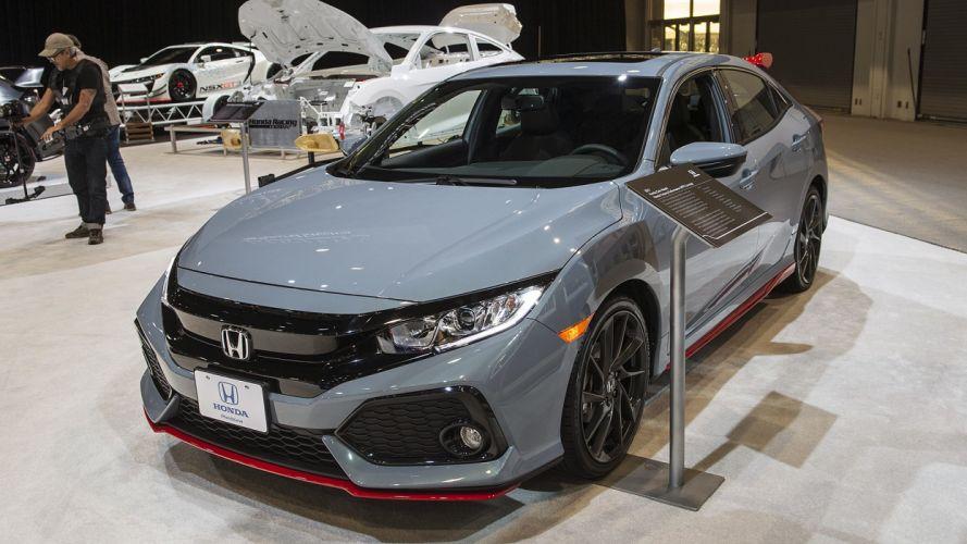 Honda Civic Hatchback HFP Concept SEMA 2016 cars wallpaper