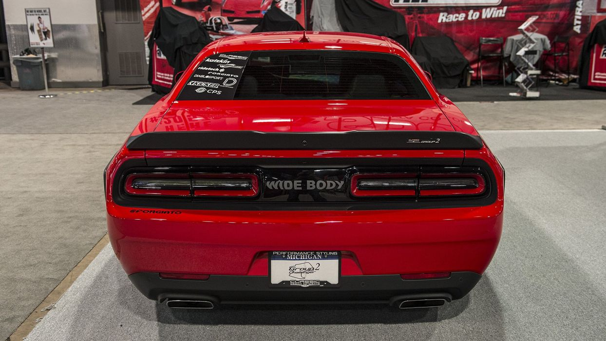 Classic Design Concepts Group 2 Widebody Challenger cars SEMA 2016 wallpaper