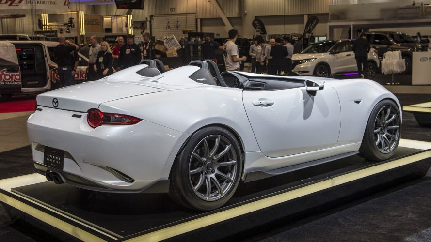 Mazda MX-5 Speedster cars SEMA 2016 wallpaper
