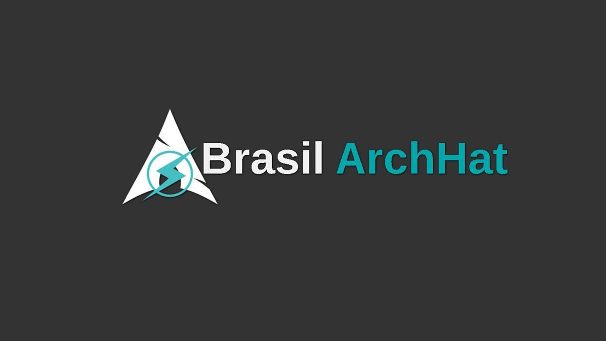 archstrike archlinux linux gnu minimalist minimal minimalism brasil blackhat pentest wallpaper
