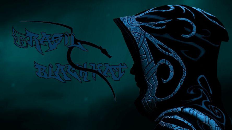 brasil blackhat hacking kali linux cap man mistery abstrate tribal stripe wallpaper