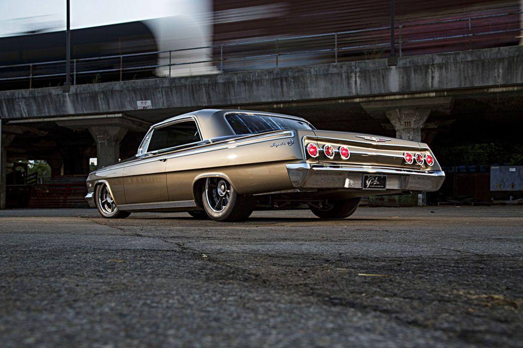 1962 Chevy Impala cars modified wallpaper