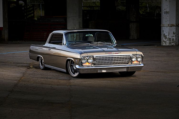 1962 Chevy Impala cars modified wallpaper