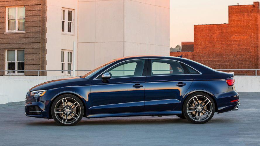 2016 audi (s3) cars sedan blue wallpaper