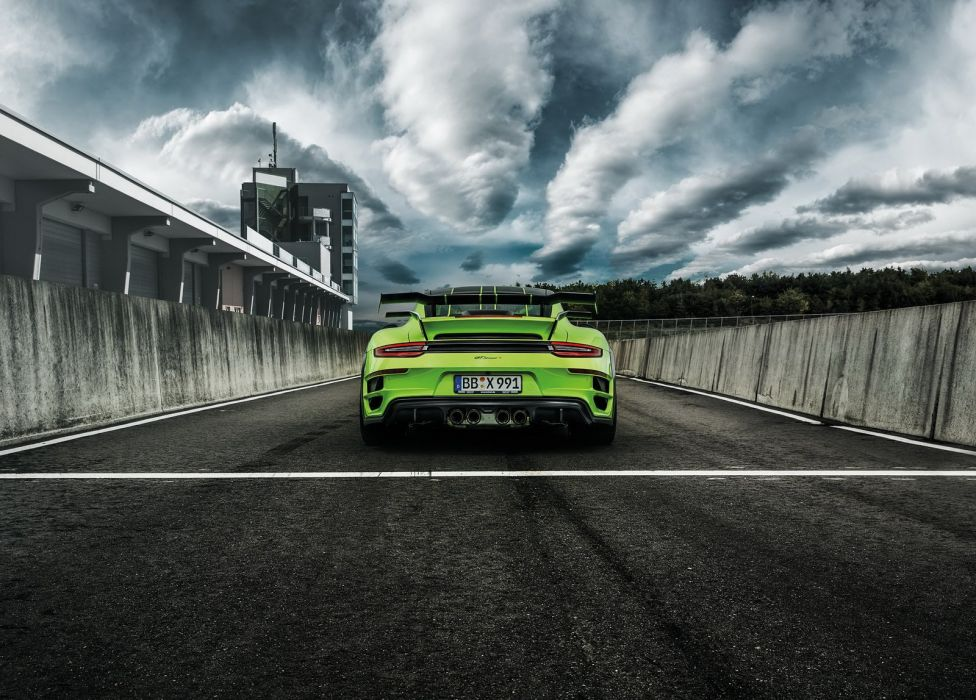 2016 TechArt 911 991 Turbo GTstreet-R cars modified green wallpaper
