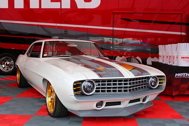 SEMA show 2016 chevy camaro 1968 1969 cars modified wallpaper