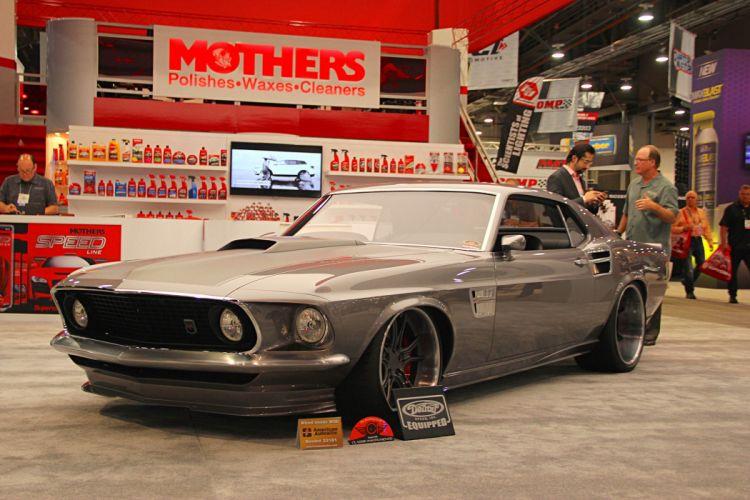 SEMA show 2016 ford mustang mk1 cars wallpaper