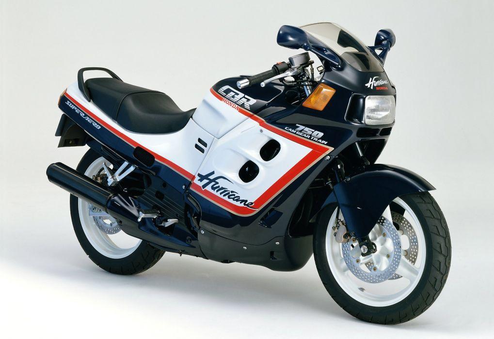 Honda CBR 750 super aero motorcycles 1987 wallpaper