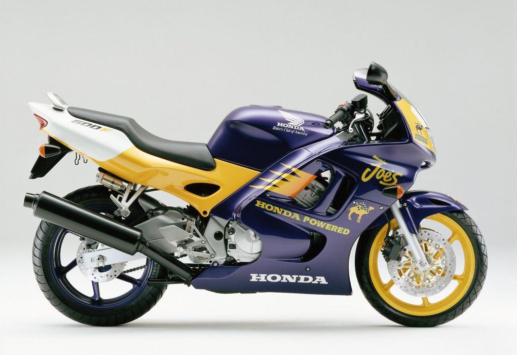Honda CBR 650F special edition motorcycles 1997 wallpaper