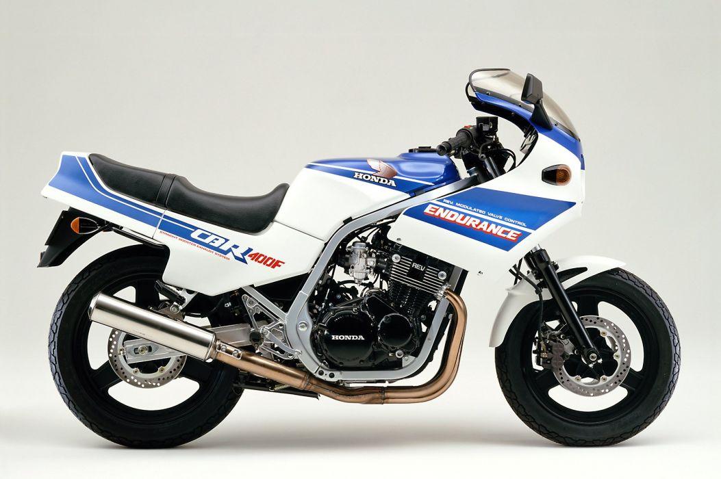 Honda Honda CBR 400F Endurance motorcycles 1985 wallpaper