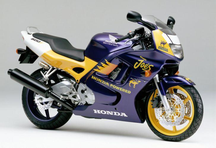 Honda CBR 600F special edition motorcycles 1997 wallpaper