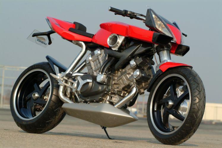 Lazareth Honda VTR 1000 motorcycles 2014 wallpaper