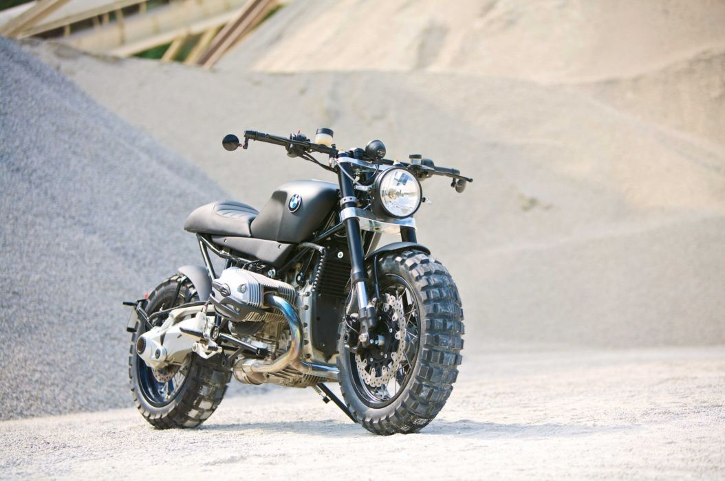 Lazareth BMW R-1200R motorcycles modified 2013 wallpaper