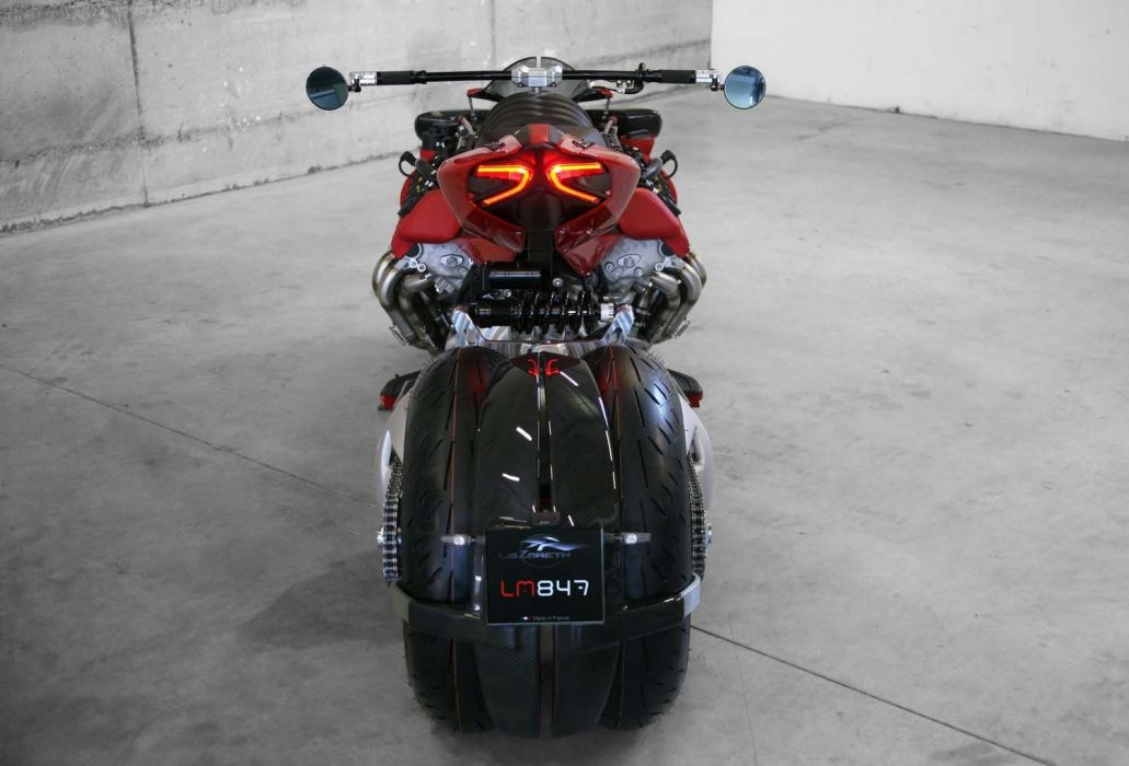 Lazareth LM-847 motorcycles 2016 wallpaper