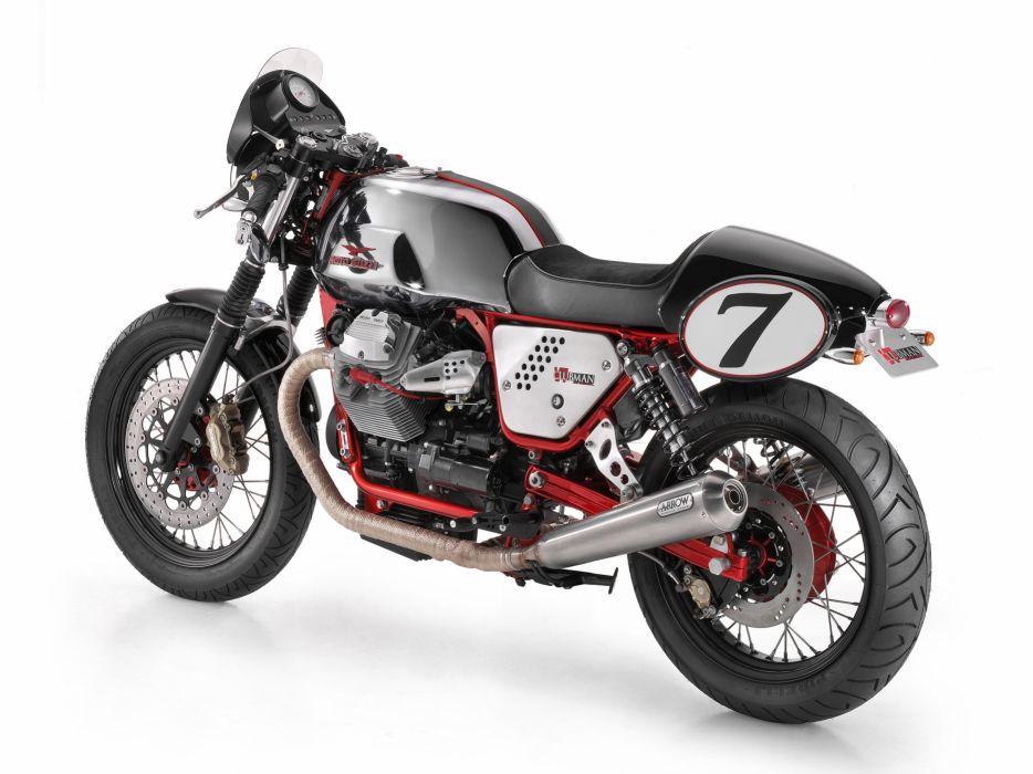 Moto Guzzi (V7) Clubman Racer motorcycles 2009 wallpaper