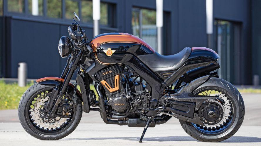 HOREX VR6 Black Edition motorcycles 2016 wallpaper