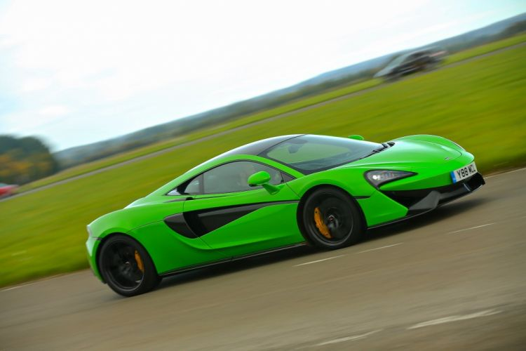 McLaren 570S Coupe UK-spec cars green 2015 wallpaper