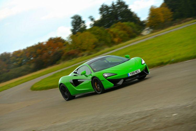 McLaren 570S Coupe UK-spec cars green 2015 wallpaper