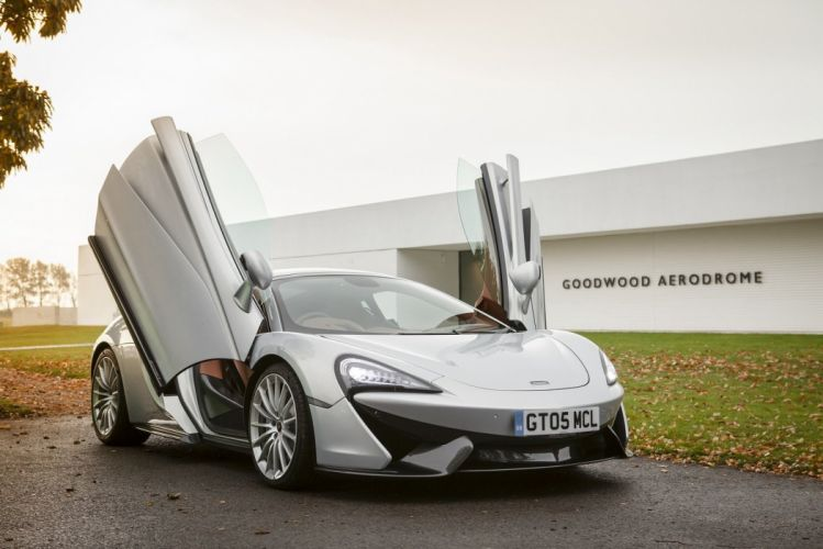 McLaren 570GT UK-spec cars silver 2016 wallpaper