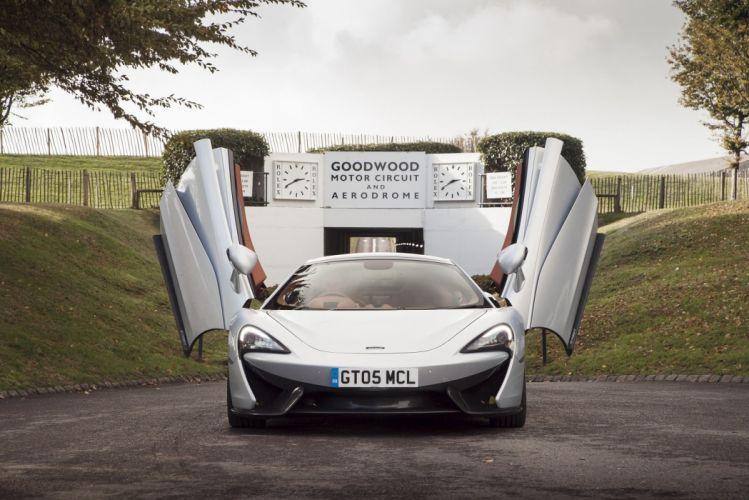 McLaren 570GT UK-spec cars silver 2016 wallpaper