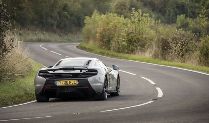 McLaren 650S UK-spec cars silver 2014 wallpaper