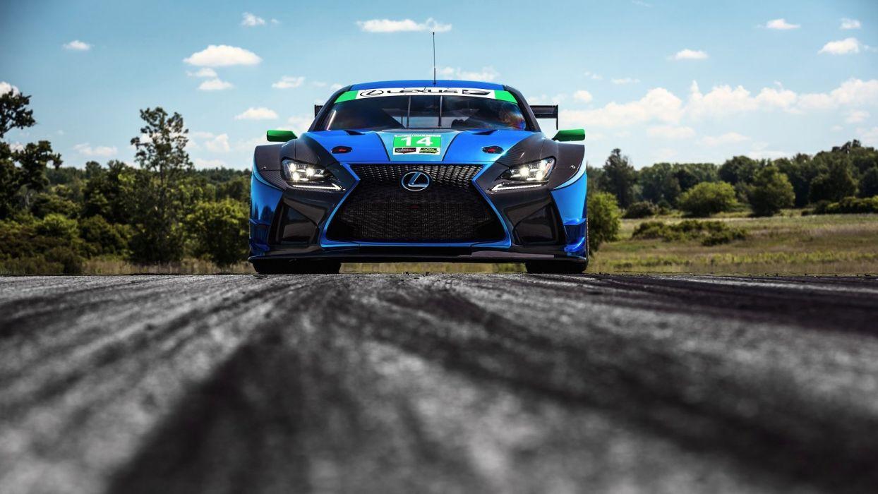 Lexus RC-F GT3 cars racecars 2014 wallpaper