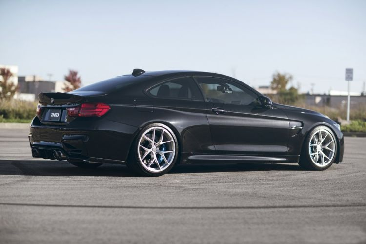 IND BMW (M4) Coupe (F82) cars modified 2015 wallpaper