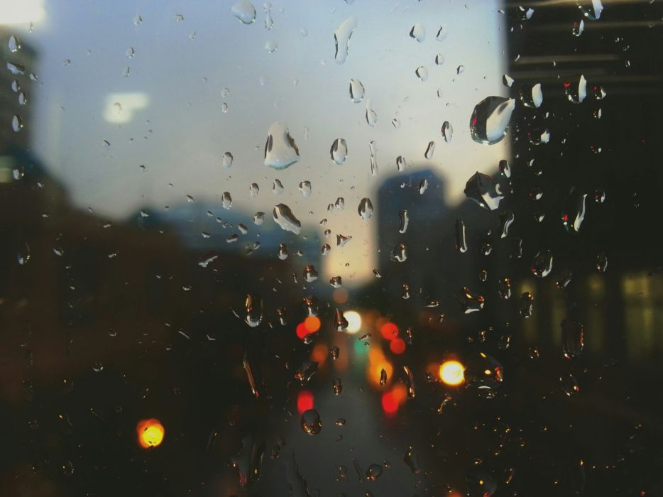 blur-city-drops-of-water-871 wallpaper